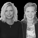Itske Lindhout en Caroline Bogchelman