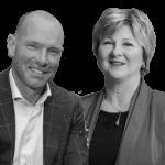 Pim Steerneman en Trudie Severens