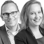 Judith Lautenslager-Bommel en Chris-Jan van Leeuwen