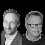 Joost Veldt en Tjaard de Vries, CNV Zorg & Welzijn