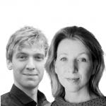 Jeroen Deenik en Karine van 't Land