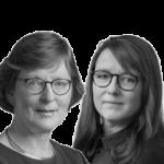 Elly Bos van den Berg en Daniëlle Zwartjens