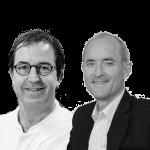 Diederik Gommers en Jan Kremer