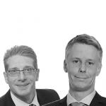 Chris van den Haak en Vincent Eversdijk