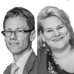 Eveline Castelijns en Wine te Meerman